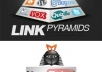 build High PR Link Pyramid on your YouTube video to rank it on Google and get more views.....