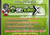 promote your website/blog using senuke x software...