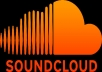 give you complete soundcloud Promotion with 100 Follower+ 100 Favourites+1500 Play+ 20 highly impressive comment to your soundcloud track