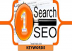 search for targeted keywords and make seo analysis to land you the most profitable keywords in your niche for your website or blog