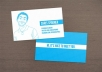 create your business card / visiting card