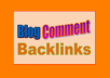 Build 55500 + Blog Comment Backlinks