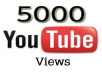 send 5000 Real YOUTUBE views