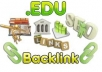 create 15 dofollow profile backlinks from edu and gov domains then I will try to get them indexed in google