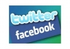 advertise and tweet your product message video link to 42,500+ people on facebook and twitter ..!!!!