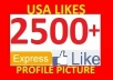 add [PERMANENT] 2500+ High Quality Likes, Fans to your Page within 1 day.......