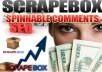 give You 10000++ Live Comment Backlinks 1x24 HOURS
