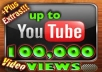 give u 100,000 youtube views to any of your video