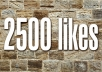 give you 2500 to 2700 Real looking [PERMANENT] facebook likes or fans to your fanpages within 24 hours