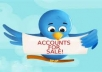 give you a Twitter account with 1,000 followers