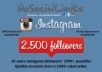 ***get you 2500 or more fast and legitimate INSTAGRAM followers with a 90 day replacement guarantee in 24 hours