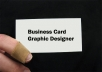 design a Professional,Original,Cool,Elegant and Custom Business Card or Name Card for your Business,Company and Personal Identity