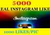 ******get You 1000 Instagram Followers to your instagram account within 24 hours, super fast service only