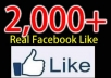 give You 2500+ USA High Profiles Facebook Fans To Your Facebook Page With Profile Pictures With All The basic Info In Less Than 20hours just ....!!!!!!