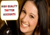 Create 75 HIGH Quality Twitter Accounts To Kickstart Your Business