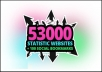 submit your site to 53K statistic websites + 100 Social Bookmarks