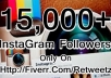get you 15,000+ Instagram Followers without admin access ....!!!!!