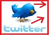 give you 100 REAL human Twitter followers within 24 hours