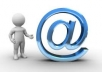 Provide reliable mass mailing server with 50K email sent per day
