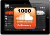 ***get you 1000 Soundcloud Followers To Your Profile within 24 Hours To Improve Your SoundCloud Ratings!!