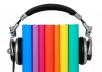 Turn your PDF documents into Audio Books