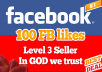 provide you 100+ Facebook Fanpage/Post/Photo LIKES within 24 hours | Real People