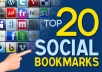 /*/*bookmark your site to Top 20 SocialBookmarking High PR4 to PR8 sites