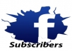 Get You 10000 Followers Or Subscribers To your Facebook Account