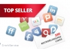 --*--submit manually 40 google plus 1+, 40 twitter share 25 facebook share 30 delicious share for your site