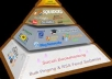 create Ultra Pyramid (5670pcs links) Web2.0, Article Directories,Bookmarking Penguin Safe