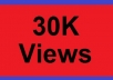 give you guaranteed 30,000+ fast youtube views!!!!!!!