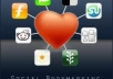 do social bookmarking 15 diigo , 50 delicious, 20 stumbleupon, 10 folkd for your site 