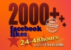 give you 2000++ facebook likes for your facebook fan page..!!!!!