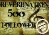 Provide 500+ Reverbnation Fans and Climb the Reverbnation Charts