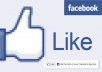 Give You 2000+( 2K+) Facebook like for your  facebook fanpage only 