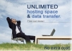 provide unlimited web space server hosting and cloud hosting