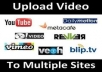 upload your video to top 35+ High Pr sites PR 9 to 4 !!!!