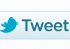 tweet 100 different positive tweets from  Real account on your site website