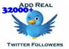 [Exclusively on seoclerks]Provide 32000+ Real Looking Twitter Followers to your account 