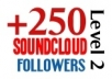 provide 250 real followers to your soundcloud page within 2 days..!!