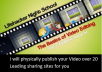 physically publish your Video over 20 Leading sharing sites for you