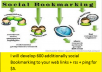 develop 600 additionally social Bookmarking to your web links + rss + ping