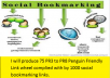 produce 75 PR3 to PR8  Penguin Friendly Link wheel complied with by 1000 social bookmarking links