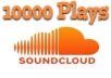 add 10,000 Soundcloud Plays or 10,000 Soundcloud Downloads within 48 hours