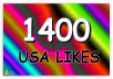 provide 1400+ Guaranteed Facebook fans and likes, no admin access needed in 23 hours