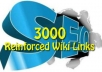 write + Spin + Manually SUBMIT 20 Articles to at least 20 high pr Directories + Web 2 0 Sites Reinforced by 3000 Wiki seo Backlinks...!!!!!