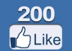 add 200+ Facebook Likes from mostly usa, uk to your fan page with admin access