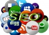 *******create 800 social bookmark SEO backlinks + ping in 24 hours