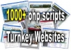 give you more than 1000 TURNKEY Websites with resell rights