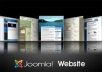 create 7 page JOOMLA website and Configure it in your hosting server..@
